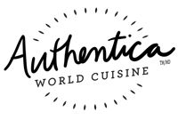 Authentica World Cuisine - Logo Round