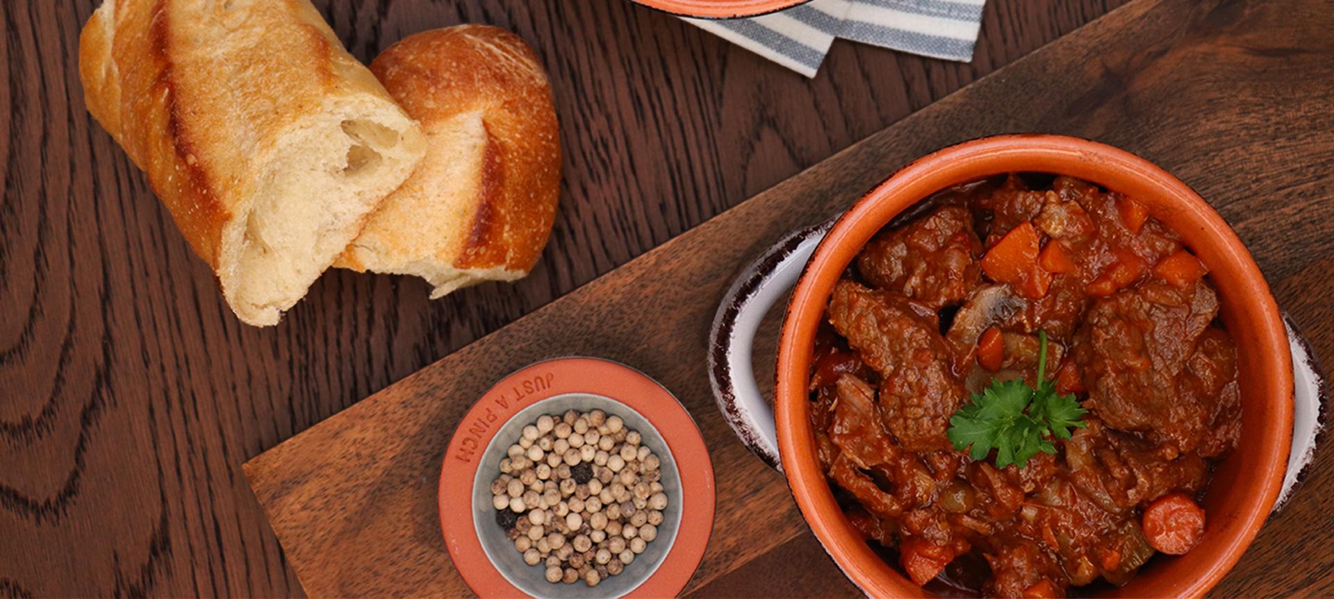 Slow Braised Beef Pot Roast Puttanesca