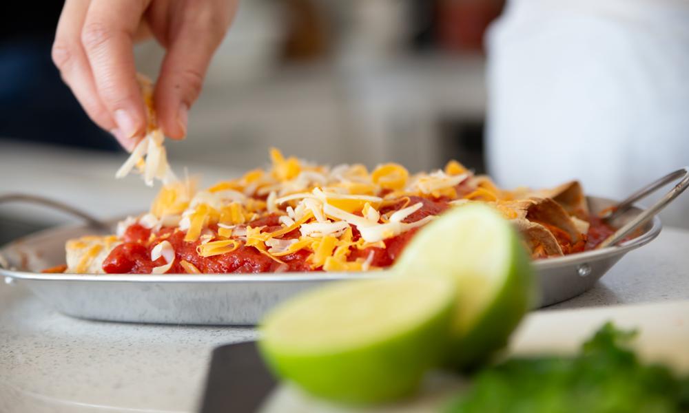 Spicy Baked Enchiladas