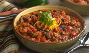 Italian Style Chorizo Chili