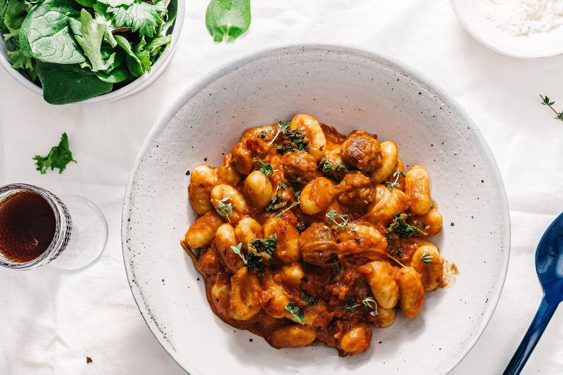 Spicy Gnocchi Arrabiata