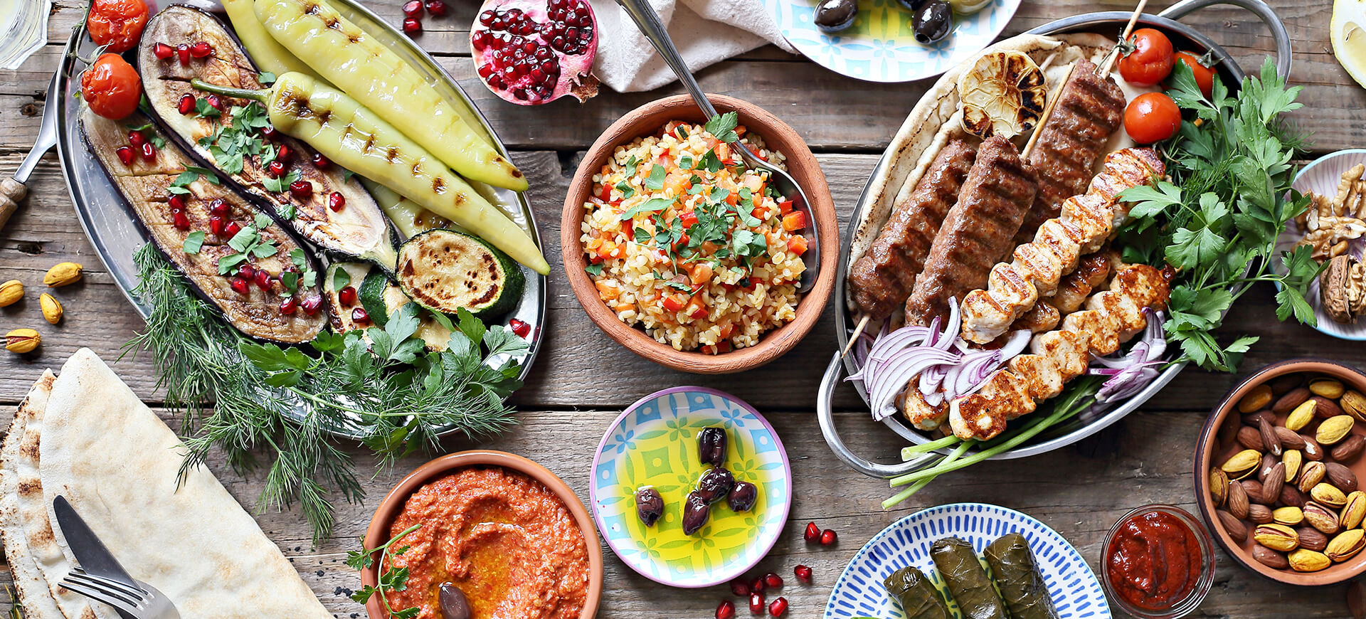 4 Recipes For A Mediterranean Style Party