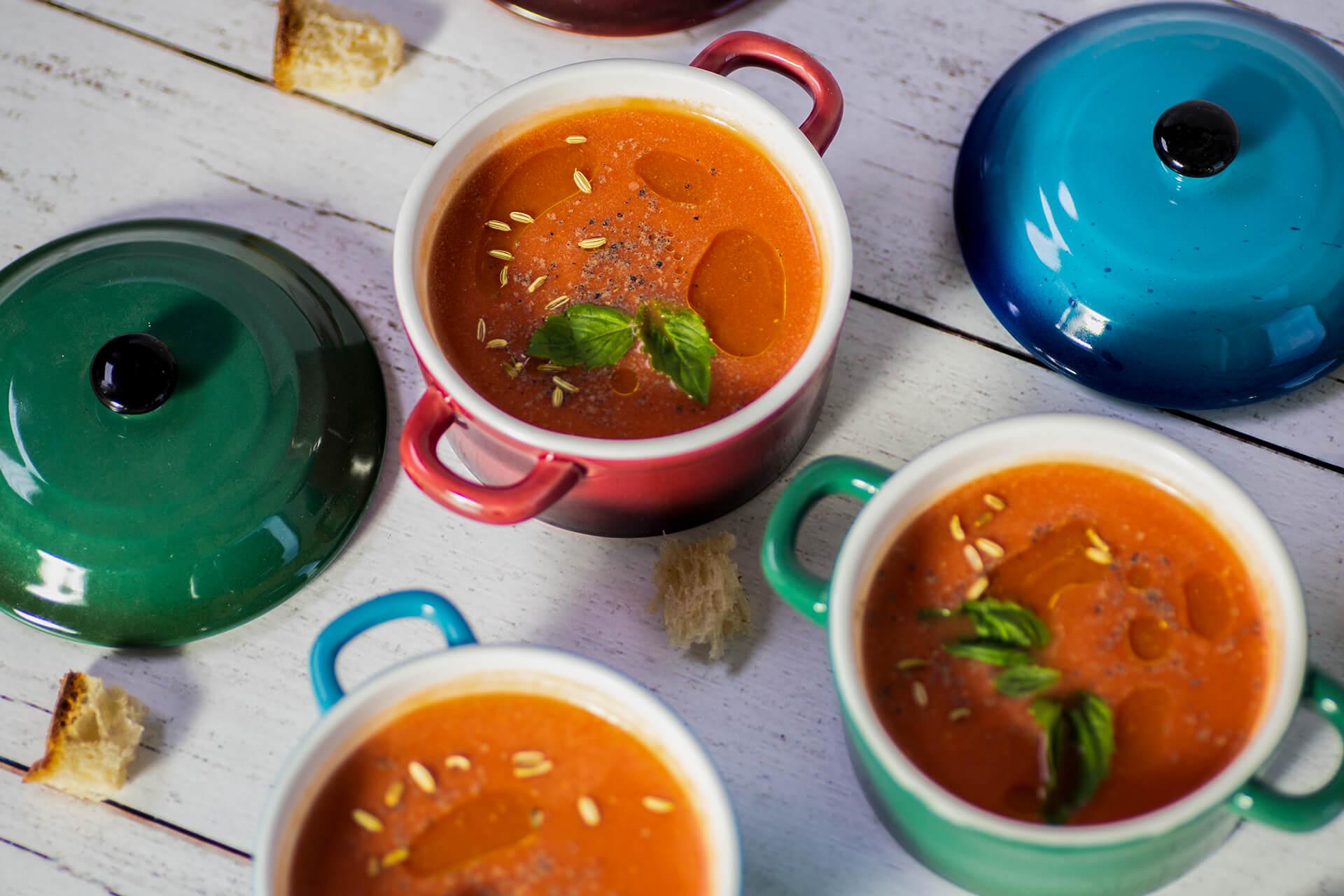 Vegan Spicy Tomato Soup