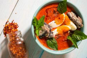 AWC Salmorejo Sardine Soup