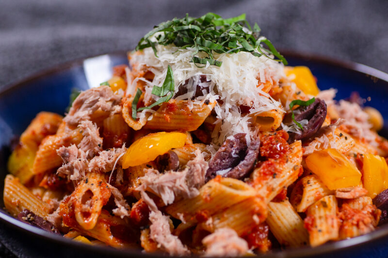 AWC Tomato Tuna Pasta