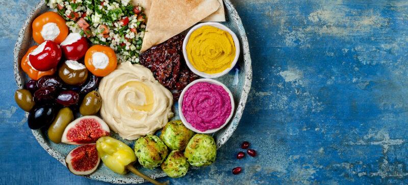Mediterranean Diet Platter