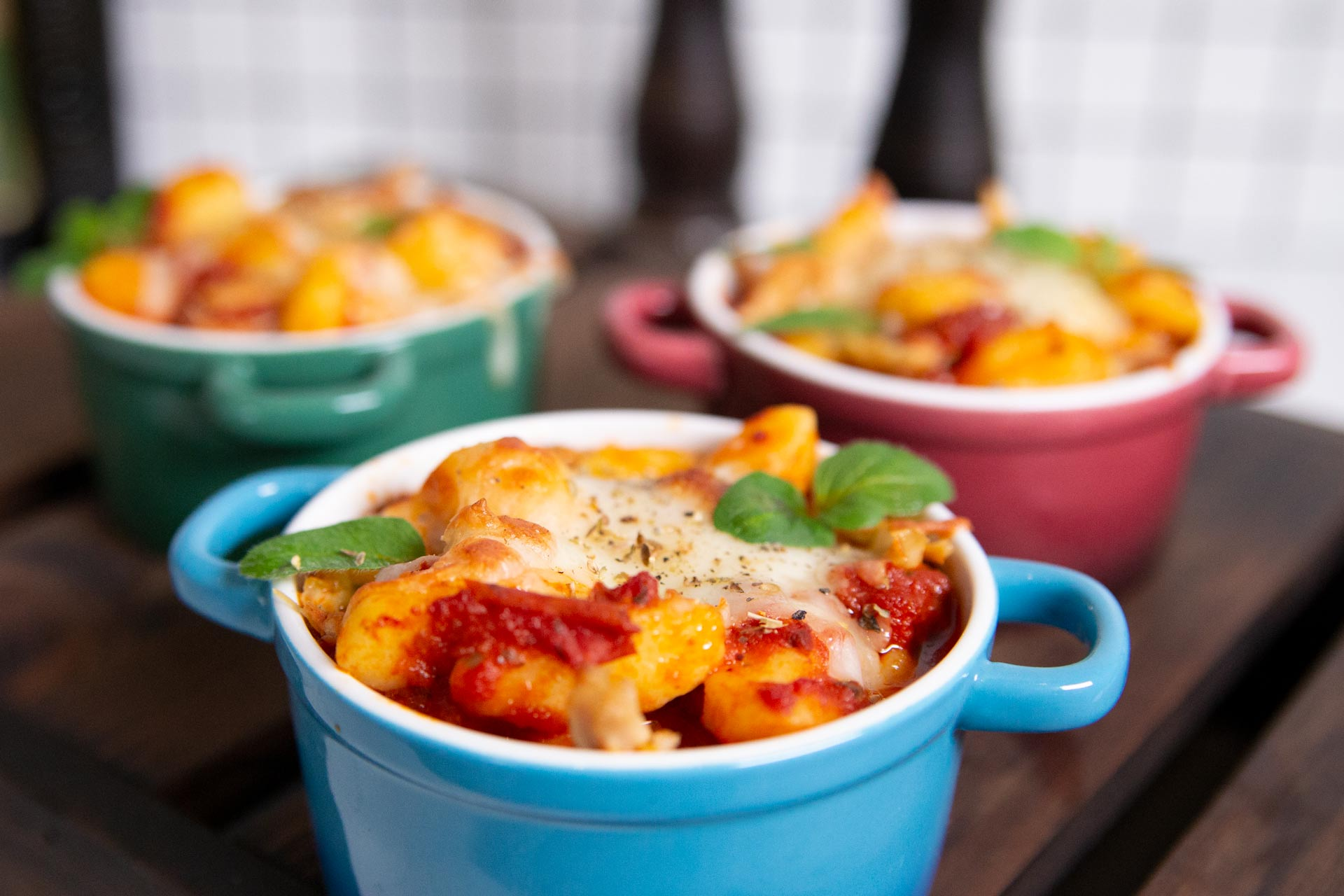 Gnocchi Chicken Bake