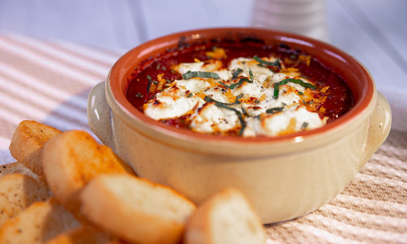 Baked Goat Cheese 1