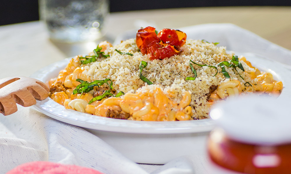 Authentica Baked Tomato Mac n cheese 2