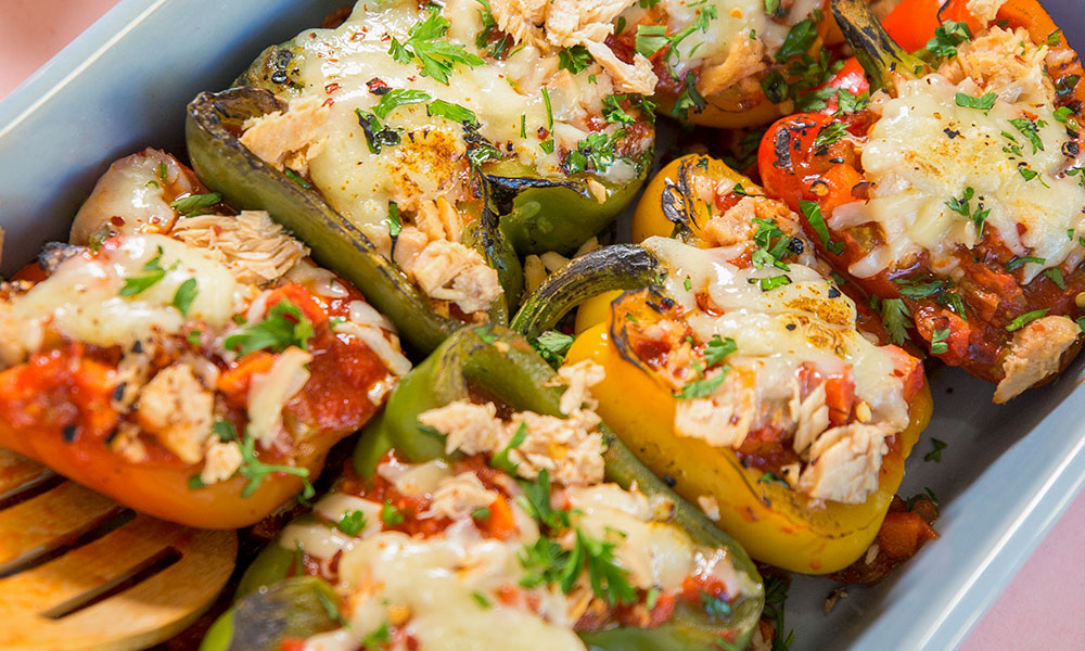 Gold Seal Authentica Salmon Stuffed Peppers