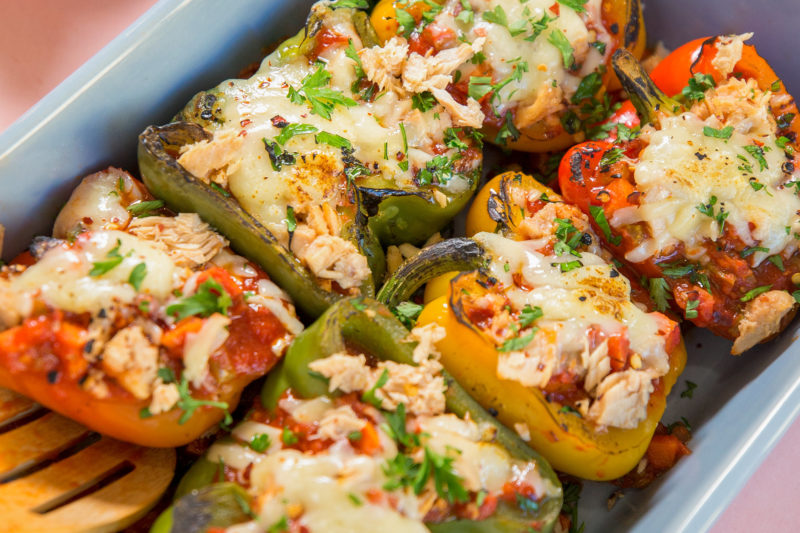 GoldSeal Authentica Salmon Stuffed Peppers FEATURE