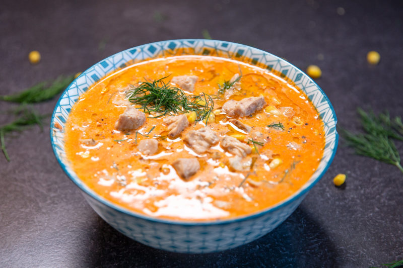 GoldSeal Authentica Seafood Chowder FEATURE