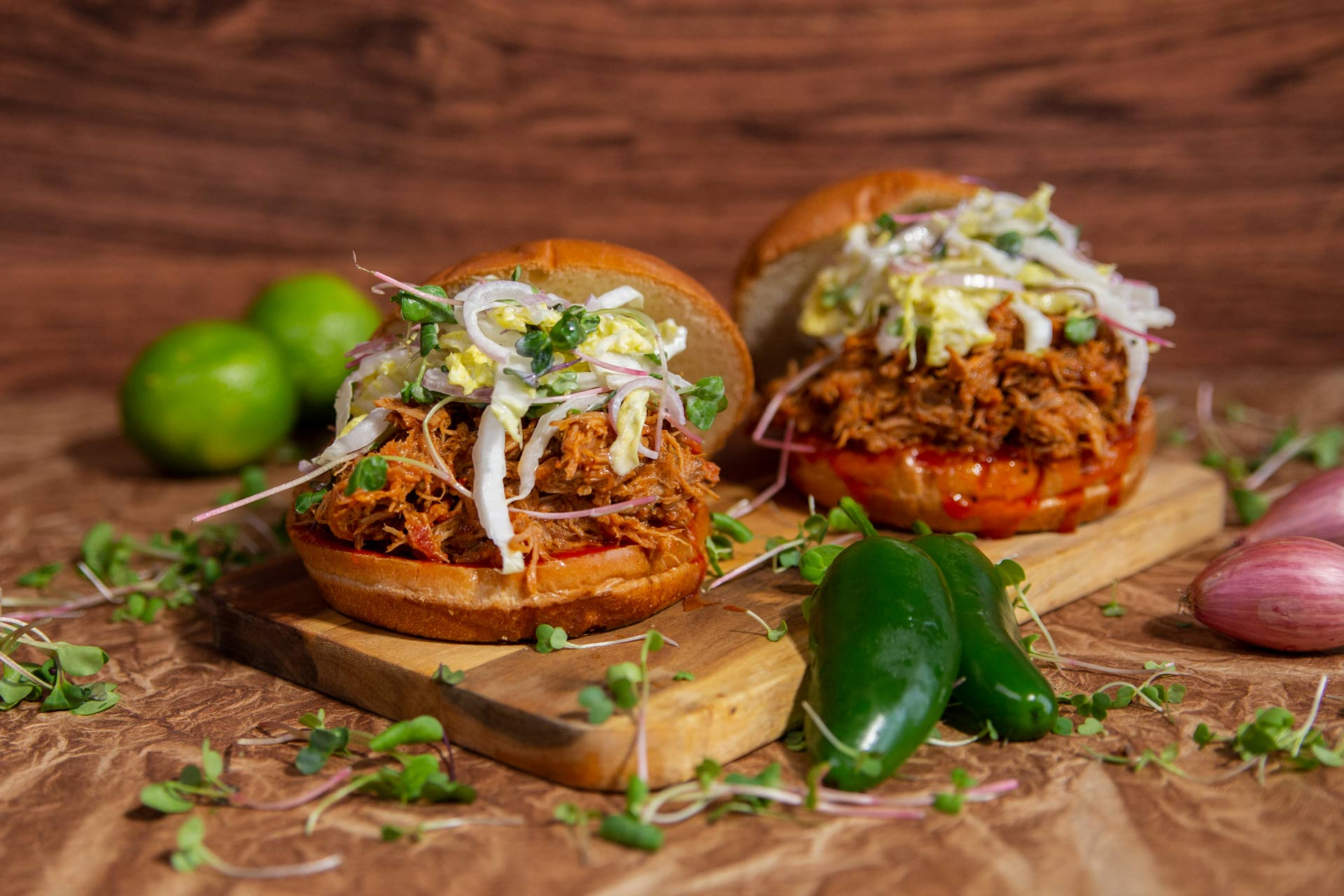 Italian Pulled Pork Sandwich
